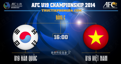 Link xem trực tiếp U19 Hàn Quốc vs U19 Việt Nam