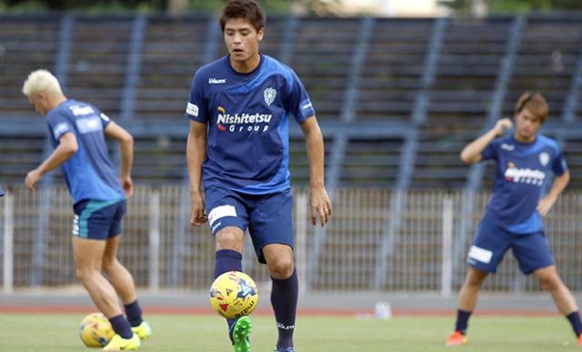 Avispa Fukuoka quyết thắng đội tuyển Việt Nam